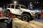Jeep's 4-door Wrangler JK winner of SEMAs Hottest 4x4-SUV Award, and trust me, there were tons to choose from.