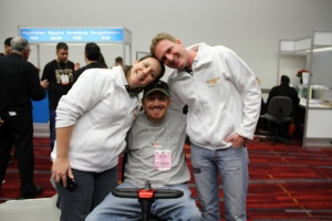 Great friends Orly and Amit, without them my dream of going to SEMA would never have happened!