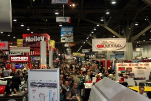 Here is a photo of a small sampling of what SEMA is