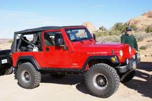 Jim and his beautiful Jeep Wrangler Unlimited Rubicon LJ.